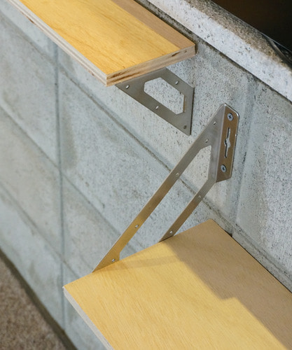 Multi-Purpose Shelf Legs