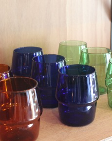 3Colors glass cup