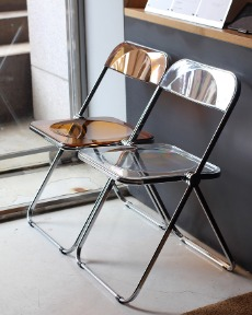 Clear Folding Chair